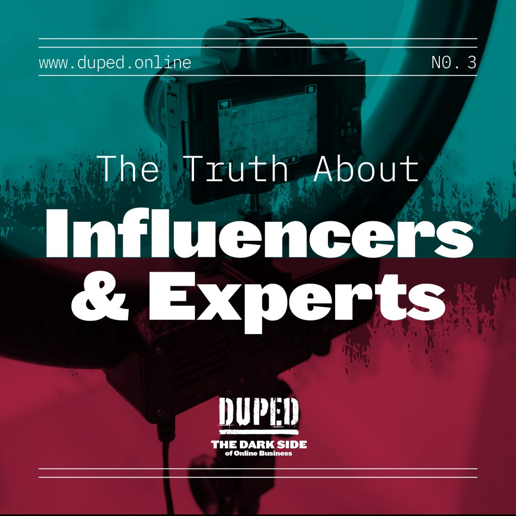 influencers and experts